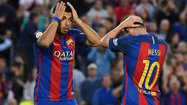 "Messi and Suarez are still ""missing"" in the Barcelona squad"