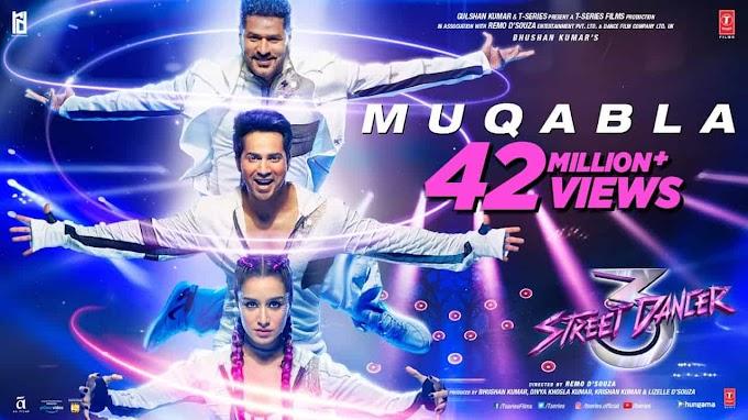 Muqabla Song Lyrics in English/Hindi- Street Dancer 3D Movie Songs
