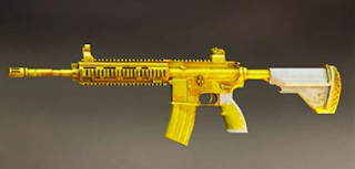 M416 pubg mobile skin: Golden Trigger