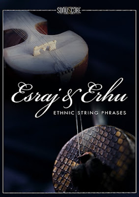 Cover da Library Esraj & Erhu - Ethnic String Phrases - Sonuscore (KONTAKT)