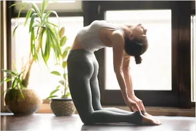 lower back pain - Ustrasana exercise