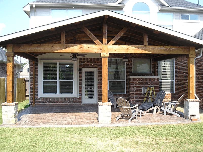 Custom Outdoor Patio Construction DFW 16