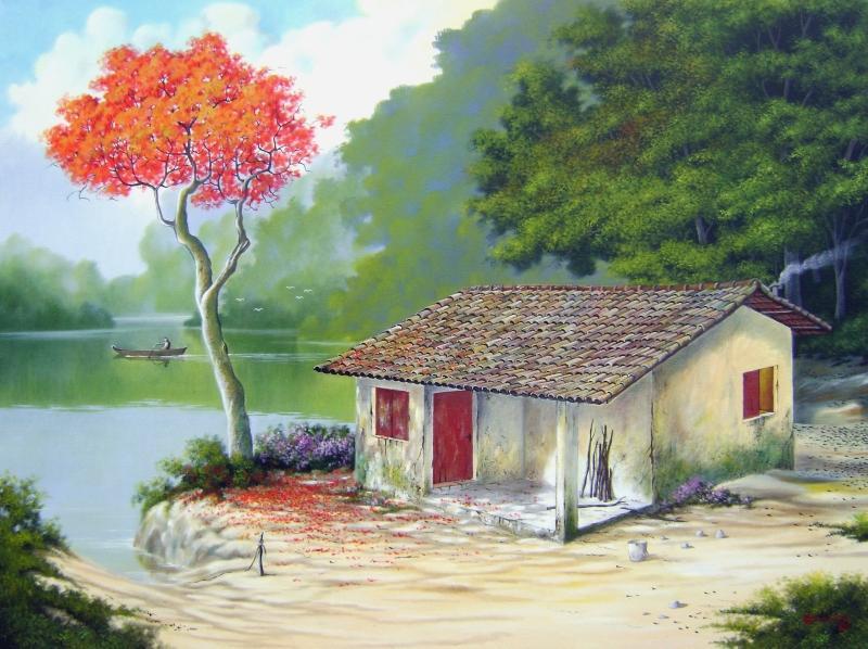 Antonio Gomes Comonian ~ Pintando paisagens com elegância.