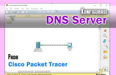 Cara Mudah Konfigurasi DNS Server Pada Cisco Packet Tracer