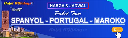 Jadwal dan Harga Paket Wisata Halal Tour Spanyol Portugal Maroko