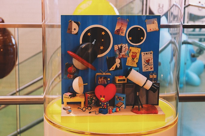 BT21 Cafe in Seoul  BTS x LINE Friends
