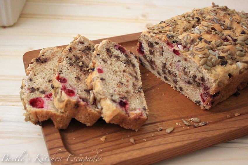 Beetle S Kitchen Escapades Choco Cranberry Beer Bread