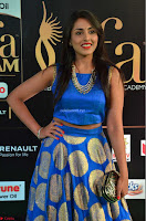 Madhu Shalini Looks Super Cute Slim trim Blue Choli Ghagra IIFA Utsavam Awards 04.JPG