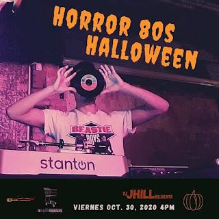 HORROR 80s Halloween 2020 | A SEIS MANOS Bogotá