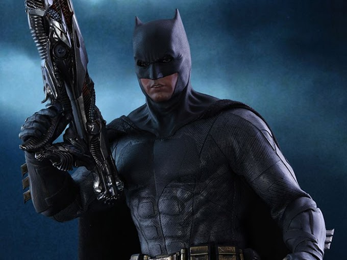 Hot Toys presenta la increible figura del Batman de Justice League