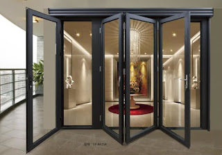 folding door aluminium semarang
