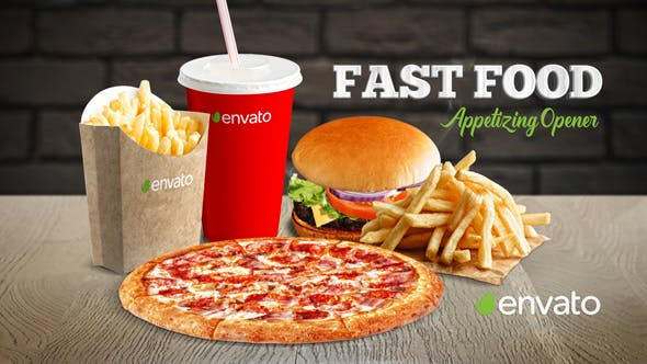 Fast Food Appetizing Opener[Videohive][After Effects][23128394]