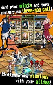 Naruto Ultimate Ninja Blazing Mod Apk