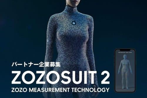 Zozosuit 2 .. 3D body fitting suit