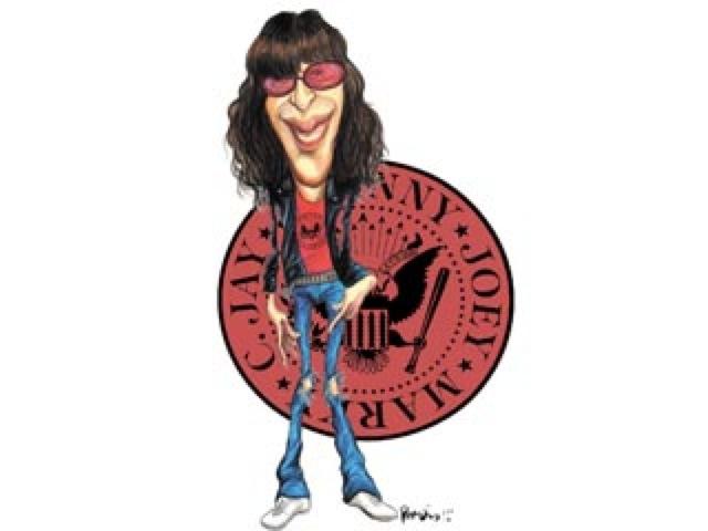 Joey Ramone Hijos: El Rojo Y El Negro: El Verdadero Don Ramón