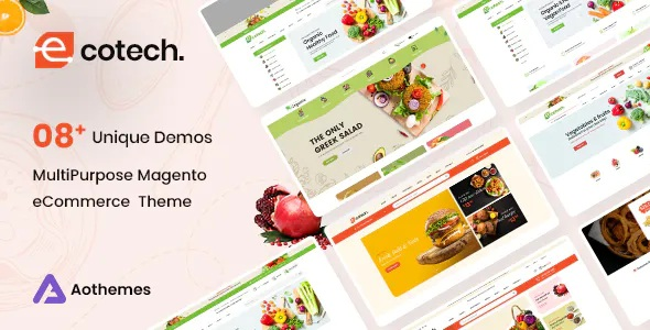Best Fresh Food Magento 2 Theme