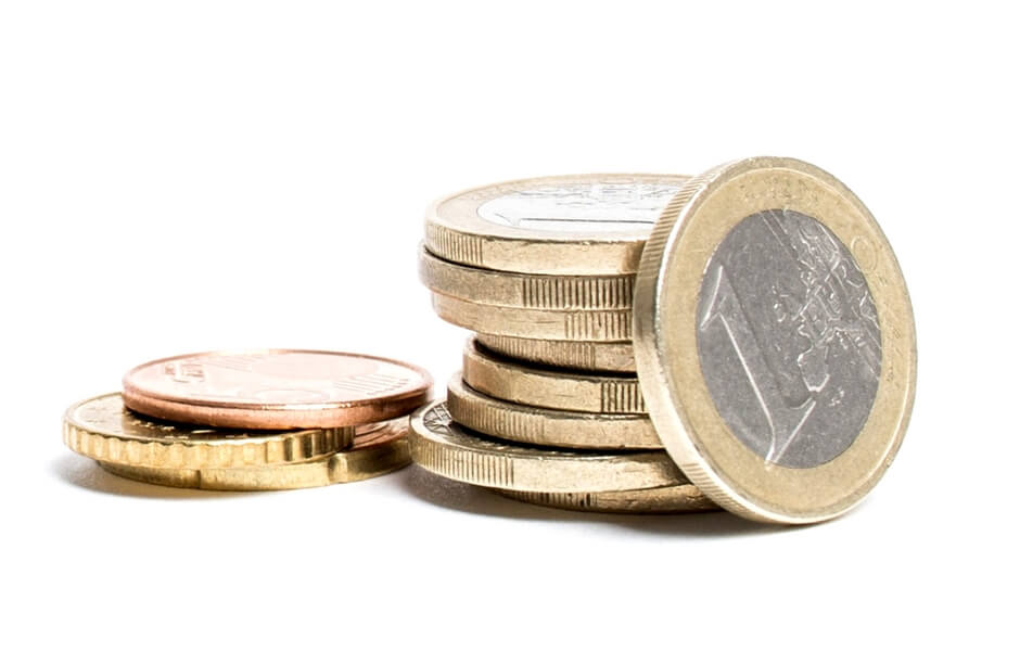 stapeltje euro's