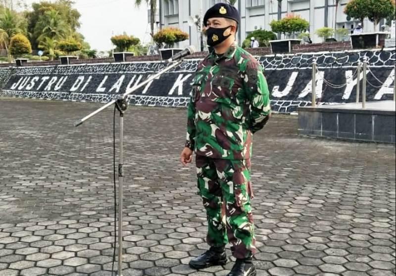 Asrena Danlantamal IV Perkenalan Kepada Segenap Prajurit dan PNS Lantamal IV