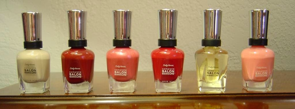 Six Sally Hansen Complete Salon Manicure Nail Polishes for holiday glamour.jpeg