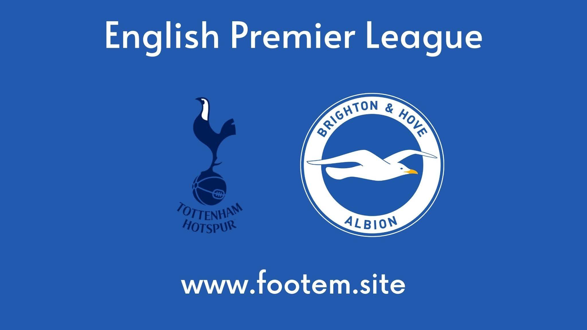 Brighton vs Tottenham footem. site live