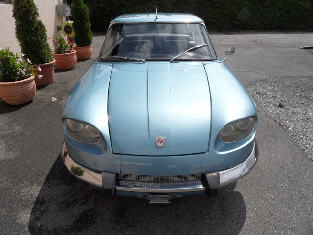 Panhard 24CT 1960s French classic car