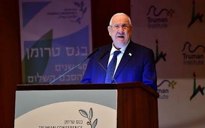 Israel está em crise e precisa de um novo governo agora, diz Rivlin na posse do 22º Knesset