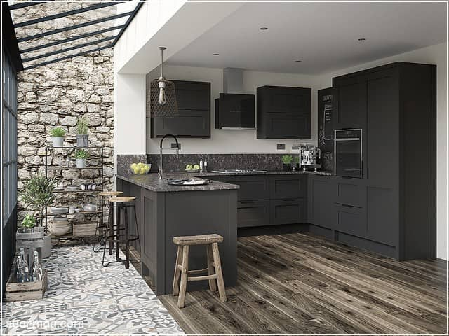 مطابخ خشب 23 | Wood kitchens 23