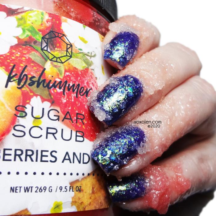 xoxoJen's swatch of KBShimmer Strawberries & Cream