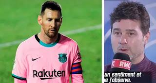 PSG boss Pochettino still hoping on a possibility of coaching Messi