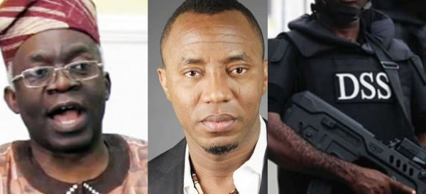 DSS can never plot a fresh charge against Sowore – Falana