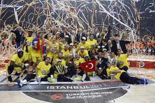 BALONCESTO - Euroliga masculina 2016/2017: Obradovic da el primer título europeo al Fenerbahçe, ante su público y en su 9ª Euroliga