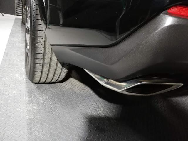 レクサス/NX200t FSPORT ボディ素地・クラッディングパーツ劣化防止保護コーティング