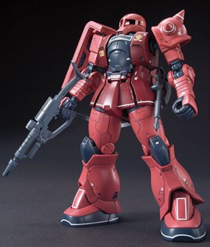 MS-05S Char's Zaku I [Gundam The Origin]