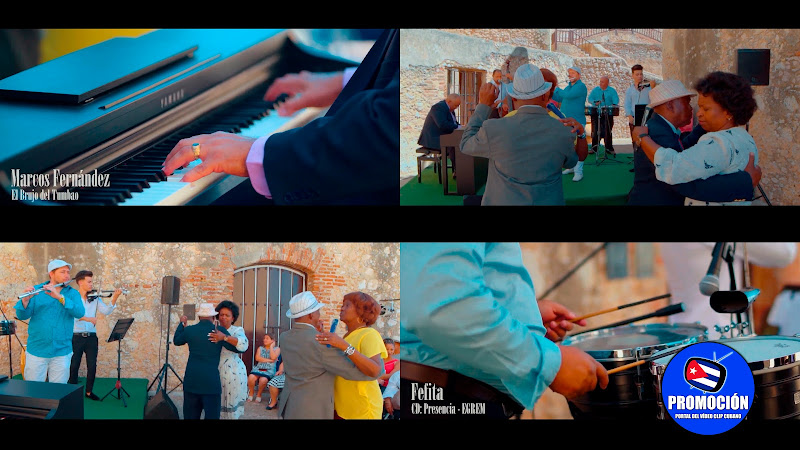 Marcos Fernández  ¨El Brujo del Tumbao¨ - Fefita (Autor: José Urfé) Videoclip. Portal Del Vídeo Clip Cubano. Música tradicional cubana. Son. Cuba.