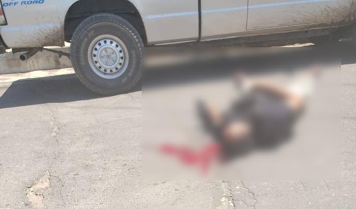 Imagenes; Grupos Armados se enfrentan en Cuitláhuac; Veracruz, hay dos Sicarios Muertos