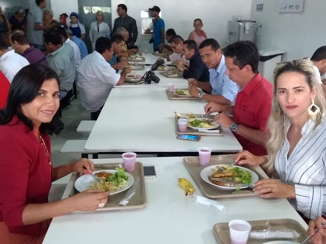 MARANHÃO NOTICIAS AGORA: Governador Flávio Dino entrega Restaurante on