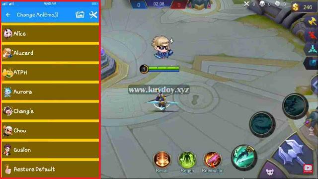 Cara Mendapatkan Semua Battle Emote Mobile Legends Gratis