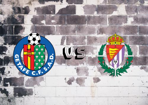 Getafe vs Real Valladolid  Resumen