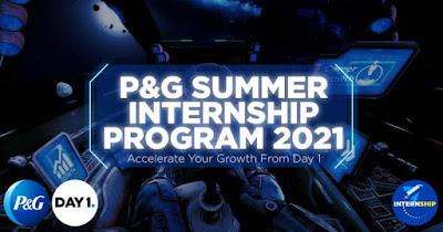 pandg internship program 2021
