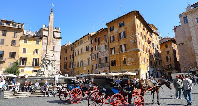 Piazza della Rotonda em Roma