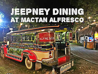 Jeepney Dining Experience at Mactan Alfresco in Mactan Newtown