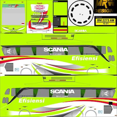 livery shd efisiensi hijau