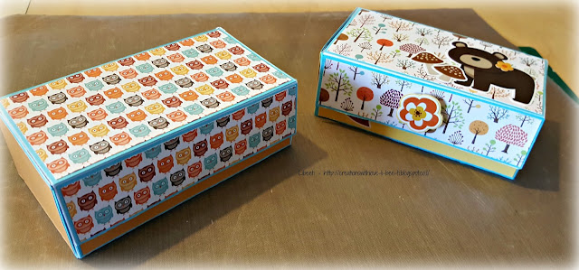 A tutorial how to make a small gift box