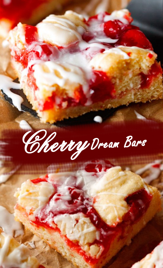Cherry Dream Bars