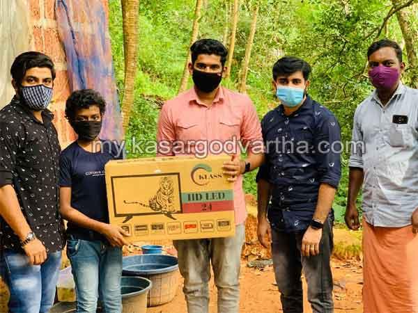 Jantar Street and Brothers Kolavayal sponsored TV to needed