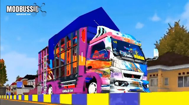 MOD Truck Canter Police Woman Mamah GISEL Cvt Full Anim