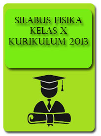 Silabus FISIKA Kelas X | Kurikulum 2013