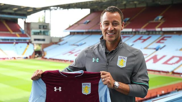 'Terry Pilih Aston Villa karena Tak Mau Berjumpa Chelsea'