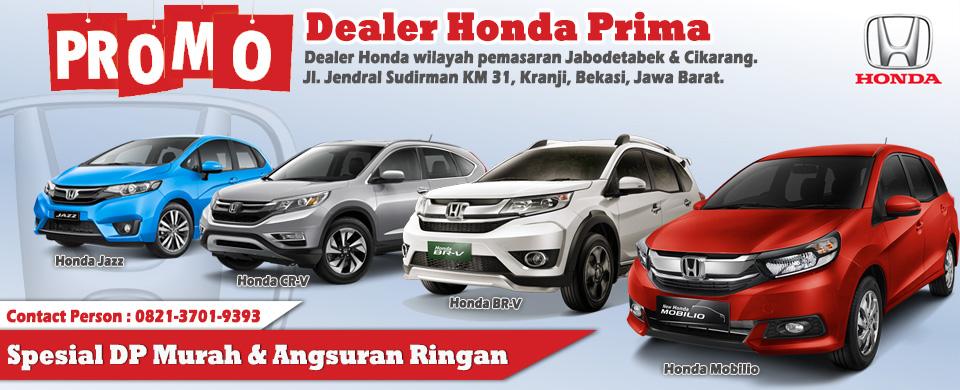 Promo DP Murah Dealer Honda Prima Bekasi