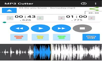 Edit Lagu dengan MP3 Cutter